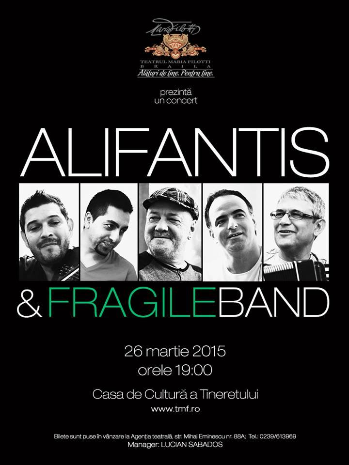 Concert extraordinar Alifantis & Fragile Band