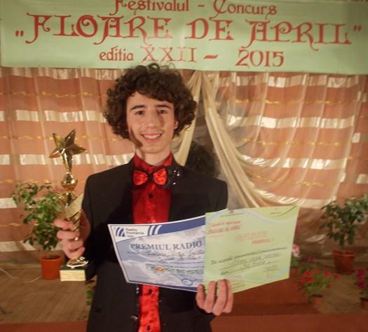 Brăileanul Doru Ciutacu a obţinut Premiul I  şi Trofeul la Tecuci
