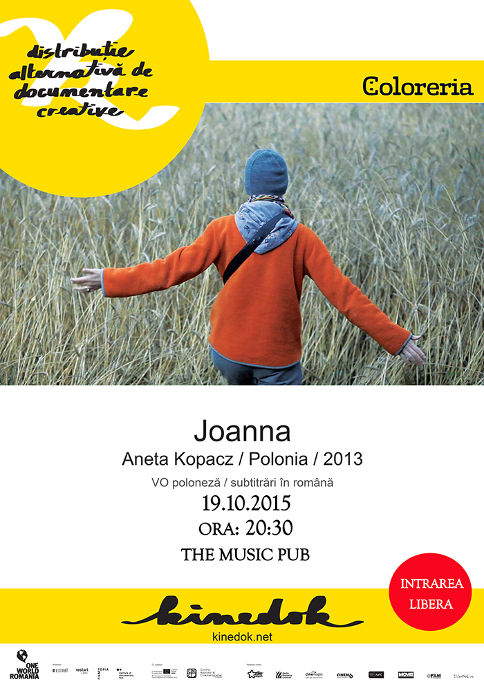 Coloreria va invita la un nou film documentar Joanna