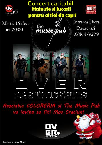 Concert caritabil la The Music Pub