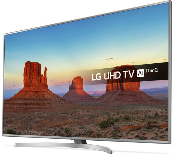 Buy LG 43UK6950PLB 43 Smart 4K Ultra HD HDR LED TV Free Delivery Currys