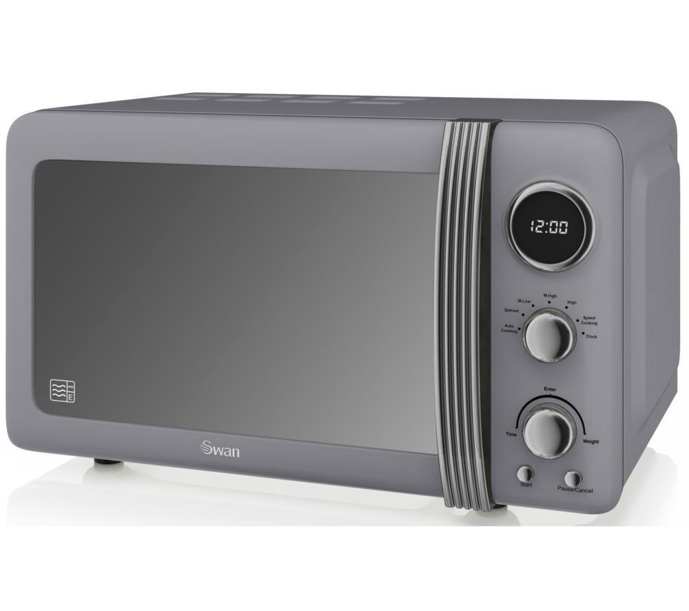 retro sm22030grn solo microwave grey