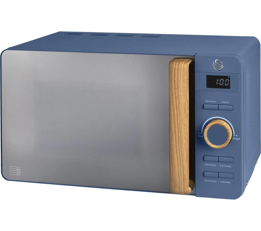 nordic sm22036blun solo microwave blue