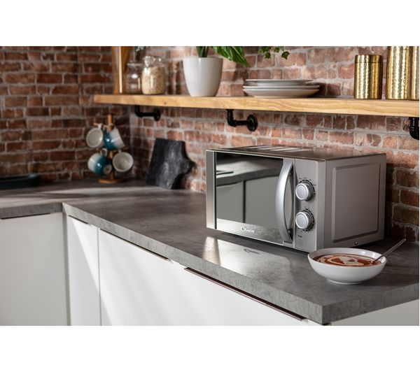 cmw20mss uk compact solo microwave silver