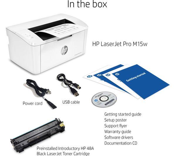 m15w monochrome wireless laser printer