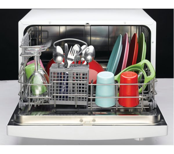 Buy INDESIT ICD661 Compact Dishwasher White Free Delivery Currys