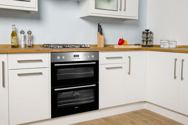 Lbudox16 Logik Lbudox16 Electric Built Under Double Oven Stainless Steel Currys Pc World Business