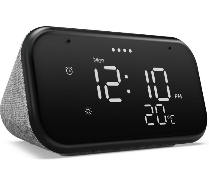 Buy Lenovo Smart Clock Essential With Google Assistant Free Delivery Currys