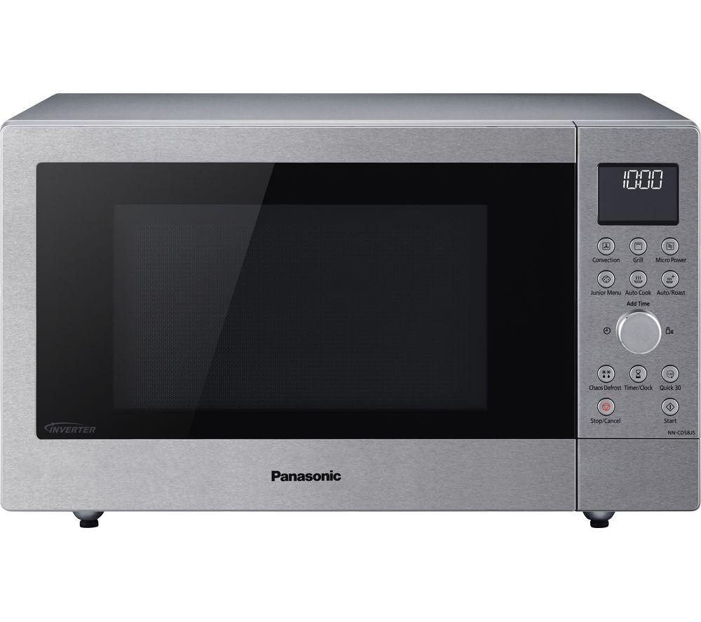 nn cd58jsbpq combination microwave stainless steel