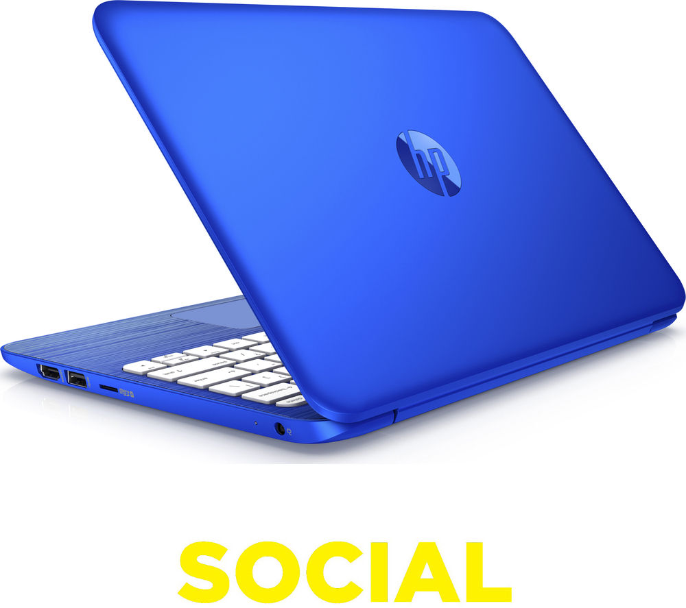 "HP Stream 11-r050sa 11.6"" Laptop - Blue"