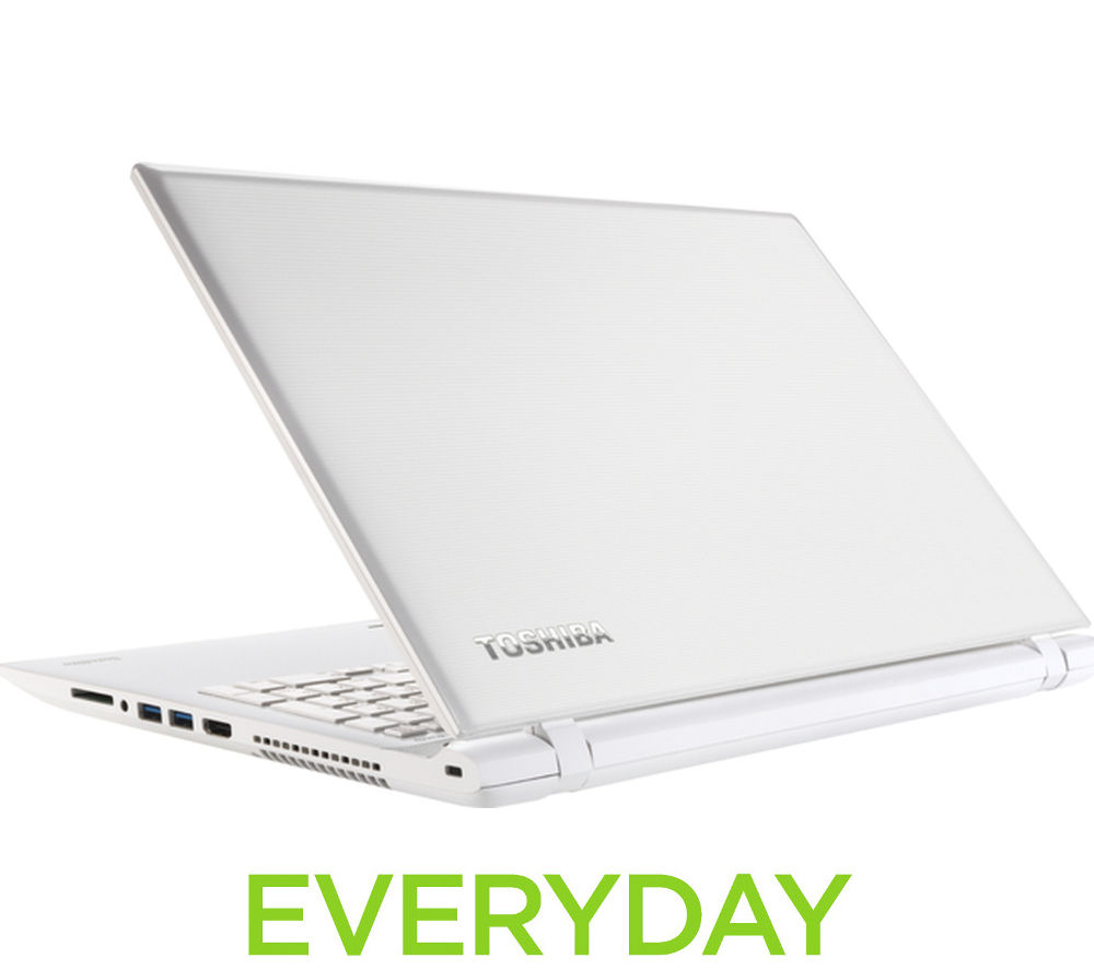 "TOSHIBA Satellite L50-C-1GX 15.6"" Laptop - White"