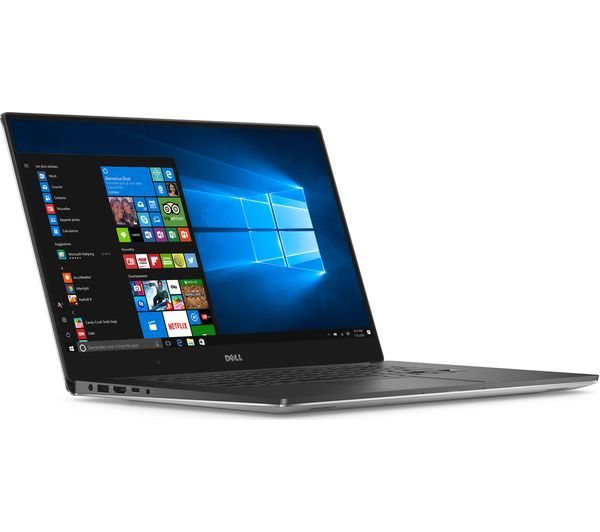 """DELL XPS 15 15.6"""" Laptop - Silver"""