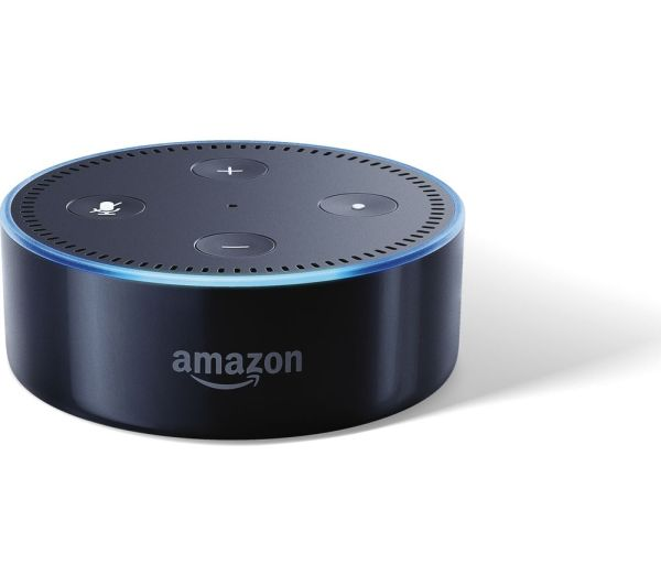 Buy AMAZON Echo Dot - Black | Free Delivery | Currys