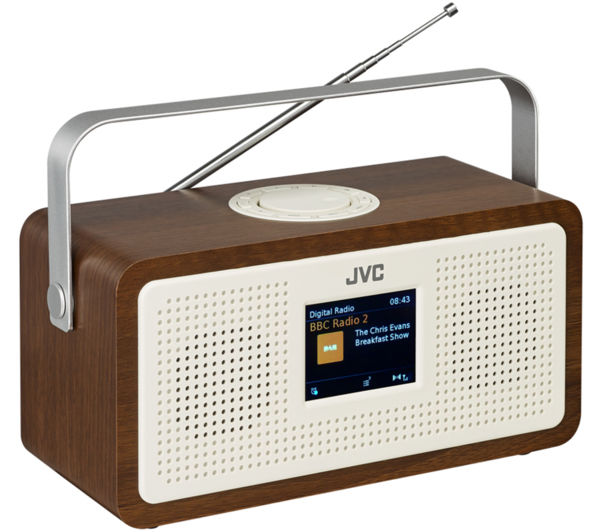 Buy Jvc Ra Ds77 Portable Dab Fm Clock Radio
