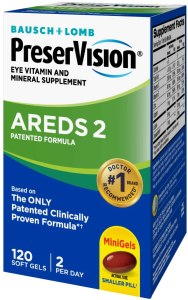 AREDS2 supplements