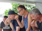 IMG_6135 Lawrence Cannoli eating contest feat of the three saints