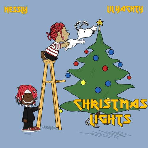 nessly lil yachty christmas lights prod 16 yr old brain bakery