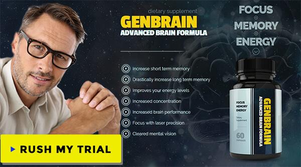 Genbrain brain supplements