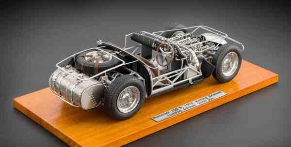 CMC Maserati 300S, Rolling Chassis, 1956