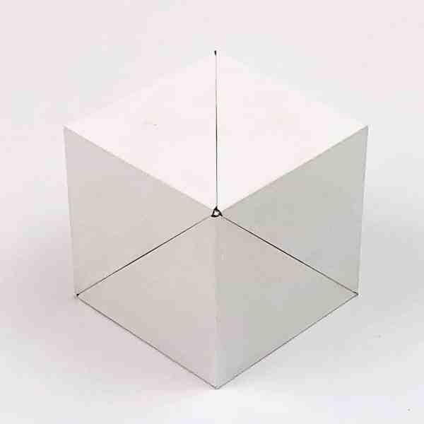 """GEOBENDER® CUBE """"WHITE""""-01"""