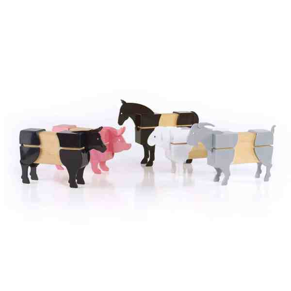 Block Mates Farm Animals