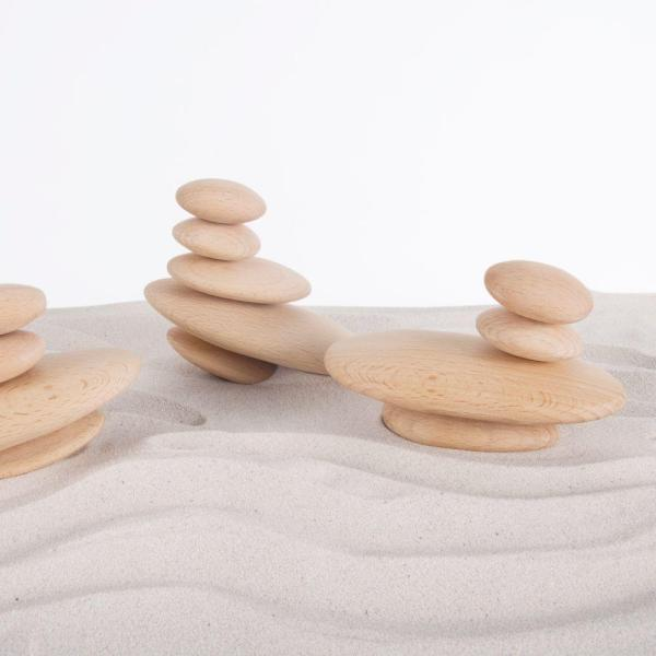Wood Stackers – River Stones
