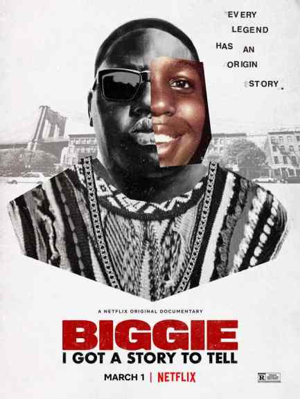 Netflix documentary on hip hop the life and death of  of Biggie the Notorious B.I,G