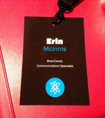 Interlink Conference 2013: Name Badge