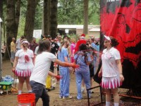 Official blood tosser