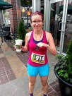 Starbucks and a nice medal cures all.
