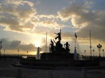 Sunset at Paseo de la Princessa