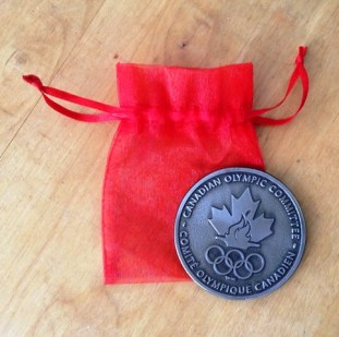 Canadian Olympic Committee medallion