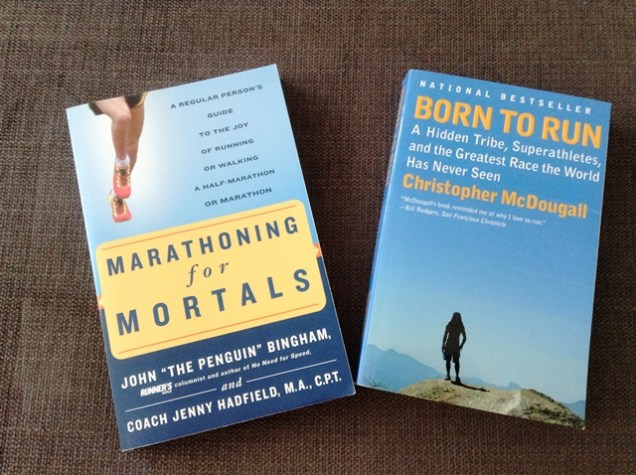 Running Books: Marathoning for Mortals and Born to Run