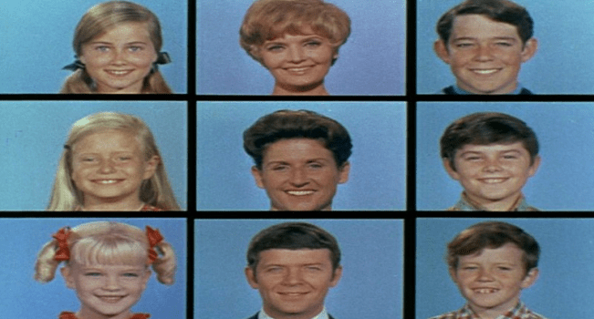 The 'Brady Bunch' Cast Members Come Together At Original TV Family Home