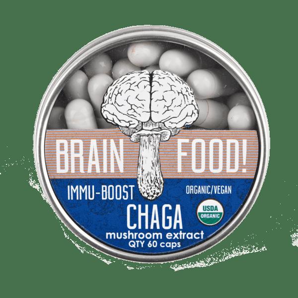 chaga mushroom supplement