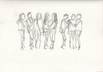 Figure Study: Girls