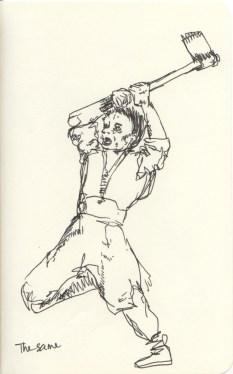 Detail Study of Goya: The Same