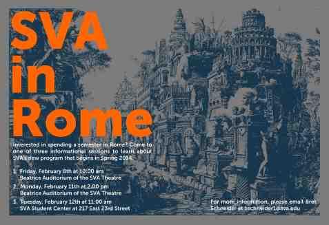 Poster 5 - SVA in Rome
