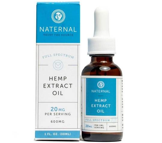 Naternal Full Spectrum CBD oil