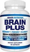 AmazoNutrition Brain Plus