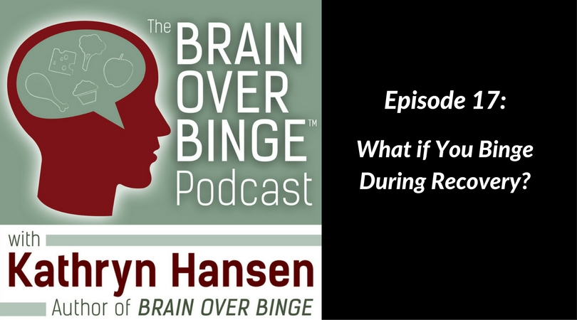 Get back on track after a binge (podcast)