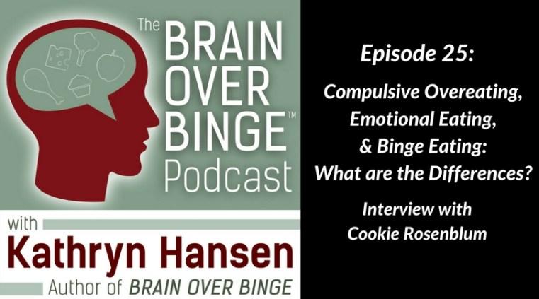 Cookie Rosenblum overeating podcast