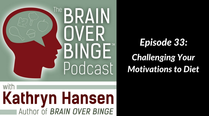 Motivations to diet in binge eating recovery (podcast)