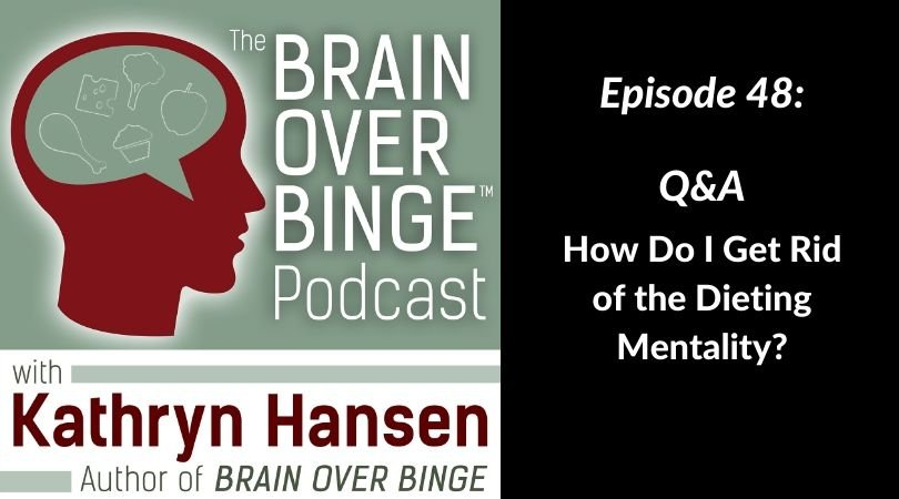 Dieting and binge eating podcast