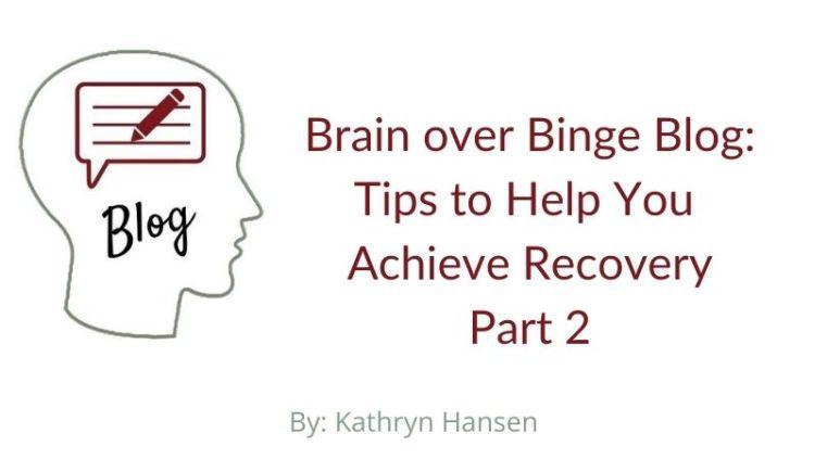 Brain over Binge tips