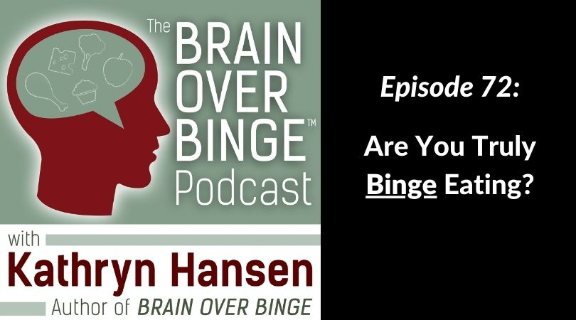 are you truly binge eating