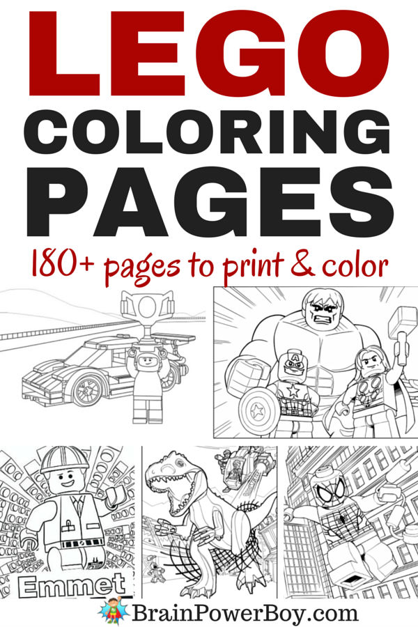 legos coloring pages # 30