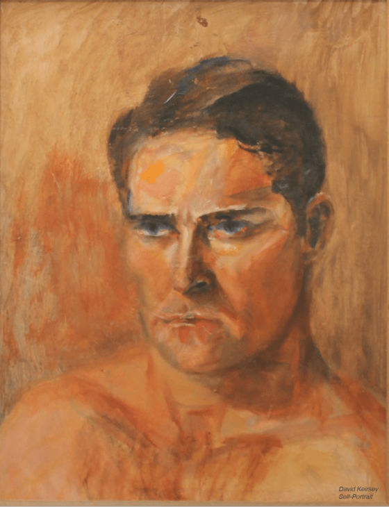 david west keirsey self portrait 2