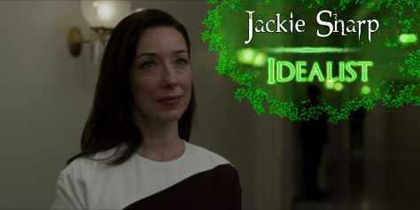 Jackie Sharp, Netflix, House of Cards
