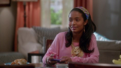Zoey Johnson, ABC Network, Black-ish, Yara Shahidi
